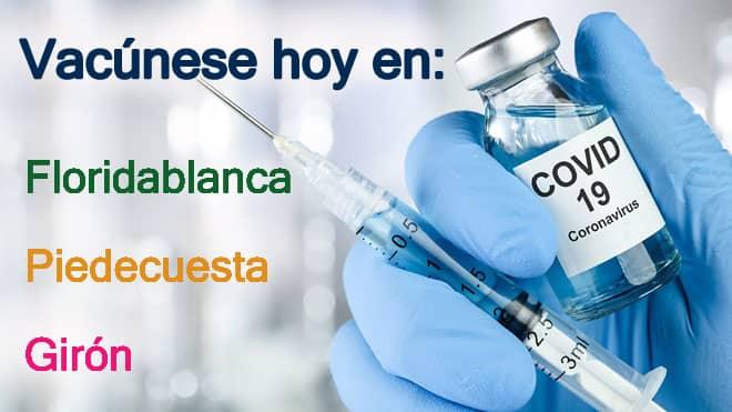 Vacunas martes